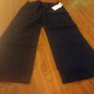 Joe's Jeans mid wide leg crop small blair gaucho